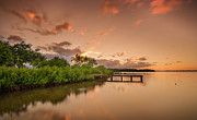 Lahaina Prints - The Lake Print by Tin Lung Chao
