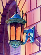 The Lamp On Goodwin Print by Robert Hooper