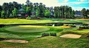 Golf Photos Posters - The Landing at Reynolds Plantation Poster by Reid Callaway