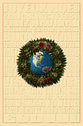 Joyeux Noel Framed Prints - The Language of Christmas 2 Framed Print by Andrew Fare
