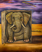 Leah Saulnier The Painting Maniac - The Last Elephant edit 2