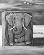 Leah Saulnier The Painting Maniac - The Last Elephant edit 3
