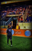 Soccer Metal Prints - The Last Game - Soccer Metal Print by Lee Dos Santos