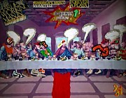 Rap Art - The Last Last Supper by Lisa Piper menkin Stegeman