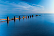 Groyne Framed Prints - The Last Posts Framed Print by Adrian Evans