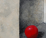 Ball Room Painting Metal Prints - The Last Red Balloon Metal Print by Sara Gardner