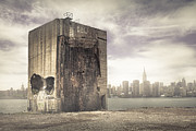 New York City Metal Prints - The last stand - Apocalypse New York City Metal Print by Gary Heller