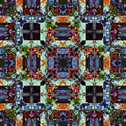 Symmetry Art - The Last Supper Abstract 20130130p0 by Wingsdomain Art and Photography