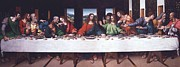 Last Supper Posters - The Last Supper - After Da Vinci  Poster by Reproductions