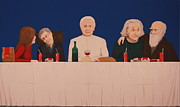 Mcdonalds Paintings - The Last Supper by Anthony  Moman
