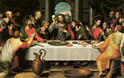 Juanes Prints - The Last Supper Print by Juan De Juanes