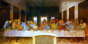 Supper Paintings - The Last Supper by Pg Reproductions