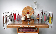 Last Supper Mixed Media Posters - The Last Supper with Tuperwear Poster by Bill Czappa