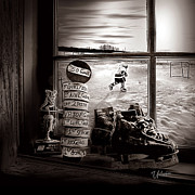Youth Hockey Digital Art - The Legacy by Elizabeth Urlacher