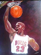 Chris Lambert - the legend Michael jordan