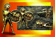 Greece Reliefs - The Legends of Troy by Hartmut Jager