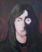 John Lennon Painting Originals - The Lennon by Rick Jones