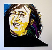 John Lennon Art Drawings - The Lennon Tapes by Neil Garrison