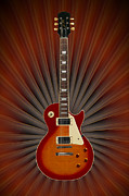 The Les Paul Print by Mike McGlothlen