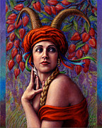 Turban Framed Prints - The Letter Framed Print by Jane Bucci