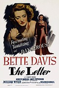 Film Print Framed Prints - The Letter  Framed Print by Movie Poster Prints