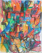 The Letter Tav 2 Print by David Baruch Wolk