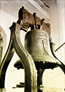 Independence Digital Art Prints - The Liberty Bell Print by Bill Cannon
