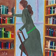 Featured Originals - The Librarian by Irit Bourla