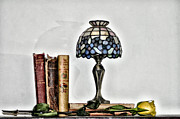 Books Digital Art - The Library by Bill Cannon