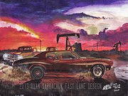 Chevelle Paintings - The Life Story Of A 1970 Chevy Chevelle Part 9 by Ryan Sardachuk
