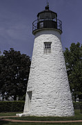 Concord Point Metal Prints - The Lighthouse at Concord Point Metal Print by Arlene Carmel