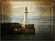 The Lighthouse Print by Lucinda Walter