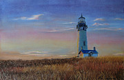 Lighthouse Pastels - The Lighthouse by Svetlana Ivanova