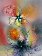 Karin Kuhlmann Art Digital Art - The Lightness of Being-Abstract Art by Carlita Cooly