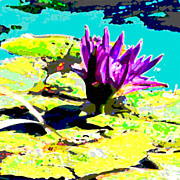 Lily Digital Art Originals - The Lily Flower by John Lautermilch