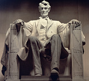 Abraham Lincoln Prints - The Lincoln Memorial Print by Daniel Chester French