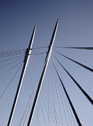 Thomas Berger Metal Prints - The lines of the bridge 2 Metal Print by Thomas Berger