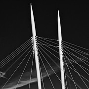 Thomas Berger Metal Prints - The lines of the bridge 5 Metal Print by Thomas Berger