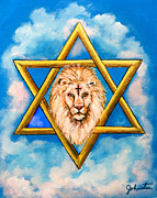 The Lion Of Judah #5 Print by Nadine and Bob Johnston