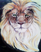 The Lion Of Judah Print by MarLa Hoover