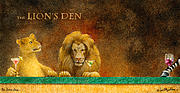 Den Framed Prints - The Lions Den... Framed Print by Will Bullas