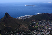 Republic Of South Africa Prints - The Lions Head - Cape Town - South Africa Print by Aidan Moran