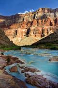 Grand Canyon Digital Art - The Little Colorado  by Ellen Lacey