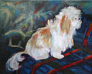 Small Dog Prints - The Little Dog Prince Print by Carol Jo Smidt