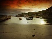 Roy Mcpeak Prints - The Little Harbour Print by Roy McPeak
