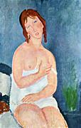Amedeo Modigliani - The little milkmaid