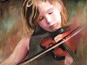 Sharon Burger - The little Violinist