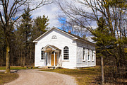 Barbara McMahon - The Little White Church In The Woods - Episcopal Methodist 1854