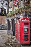 Telephone Booth Posters - The Local Poster by Heather Applegate