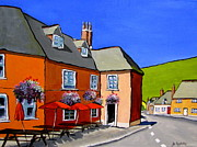 Local Food Painting Framed Prints - The Local Framed Print by Jo Appleby